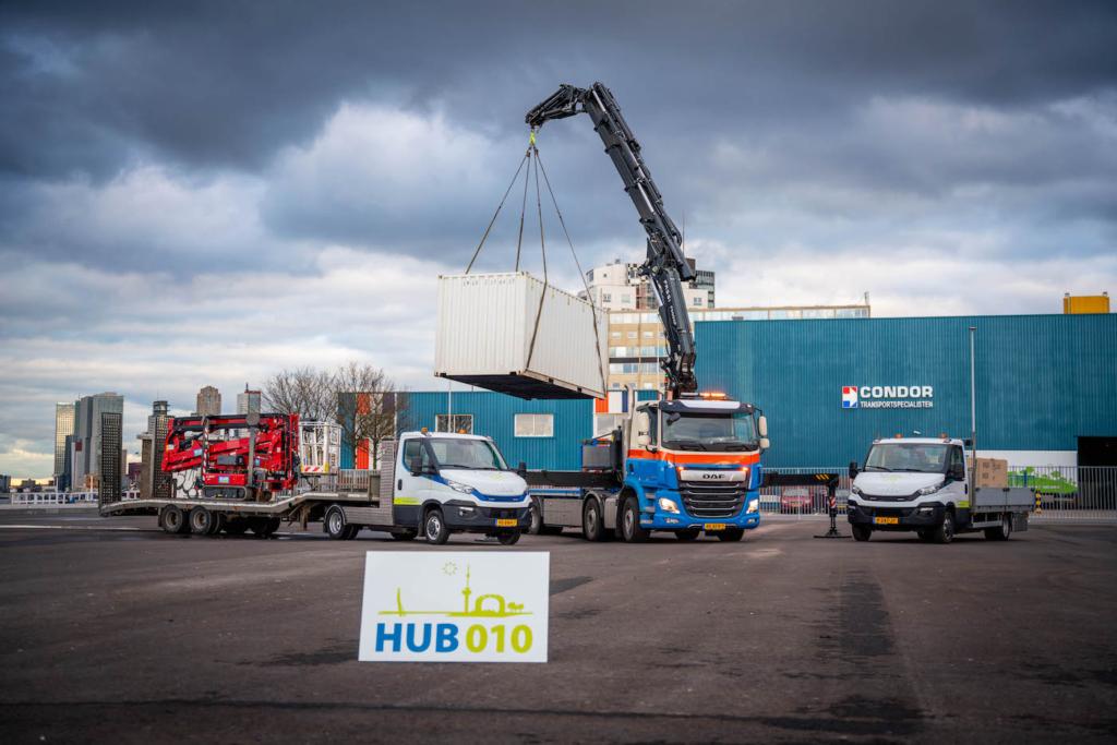 HUB010-vrachtwagen